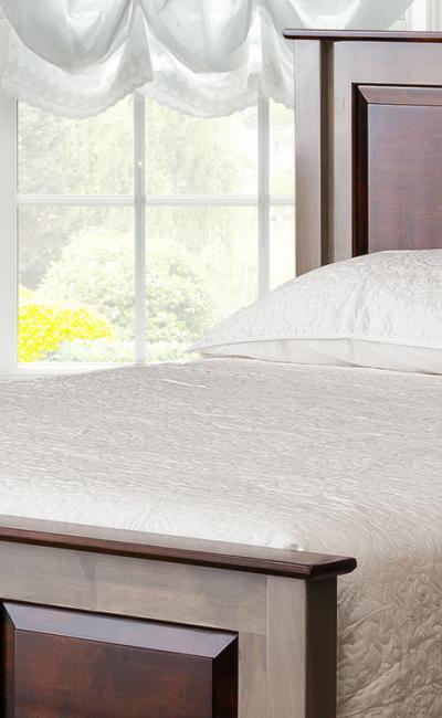 Mt. Eden Woodworks Shaker Collection Bedroom Set