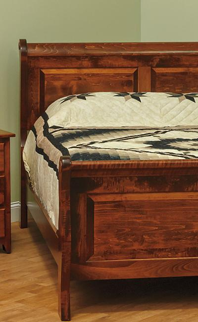 Ames Woodworking 600 Series Bedroom Set