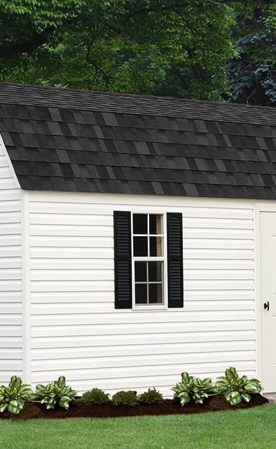 B&B Structures Backyard Cape Garage