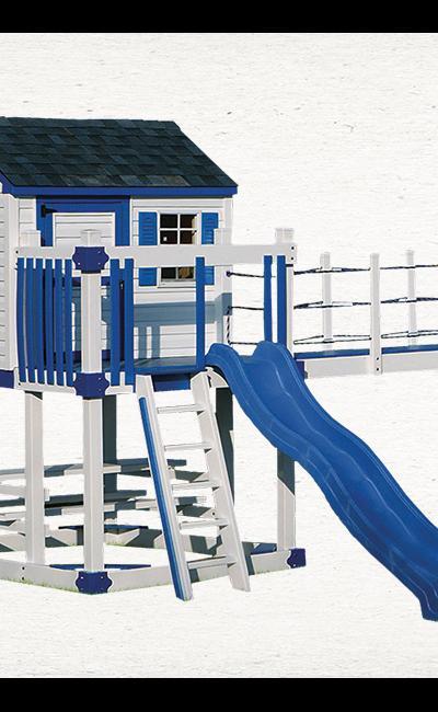 Swing Kingdom C-5 Play Set