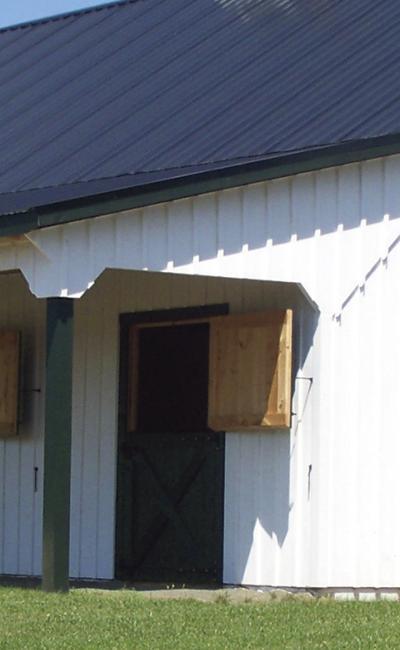Solanco Structures Custom Horse Barn