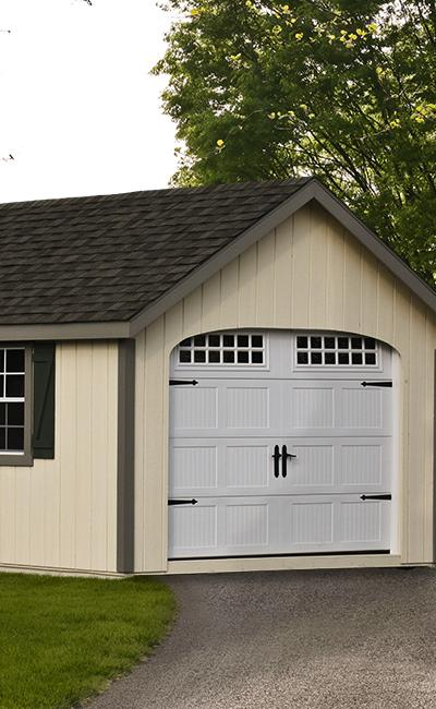 B&B Structures Elite A-Frame Garage