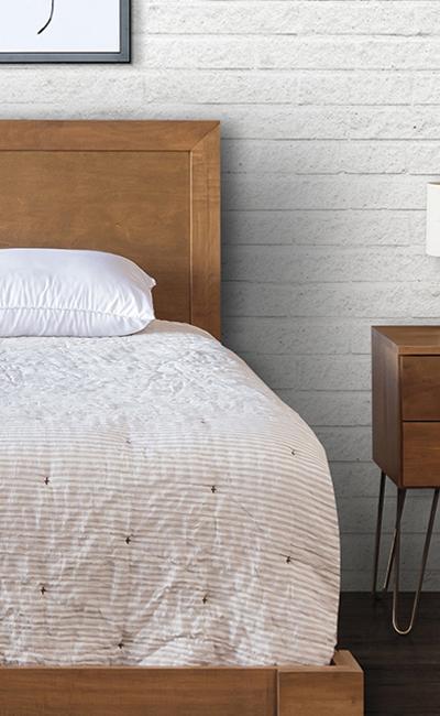 Ames Woodworking Hairpin Series Bedroom Set