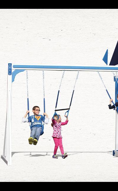 Swing Kingdom KC3 Swing Set