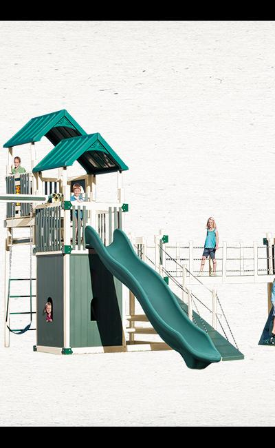 Swing Kingdom Commercial Swing Set