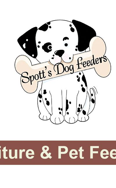 Spott's Road Dog Feeders and Furniture