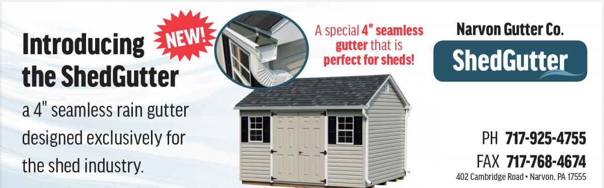 Springville Woodworks Shakes Up Shed Industry With Gutter