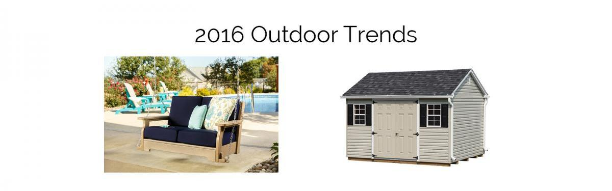2016 Outdoor Trends