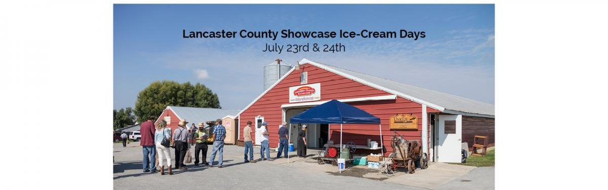 Lancaster County Showcase Ice Cream Days
