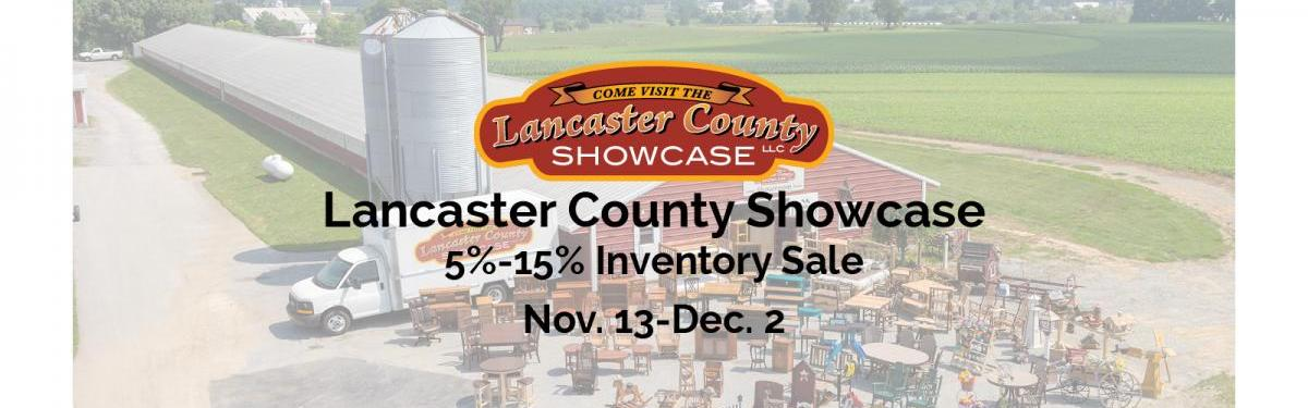 Lancaster County Showcase Inventory Sale