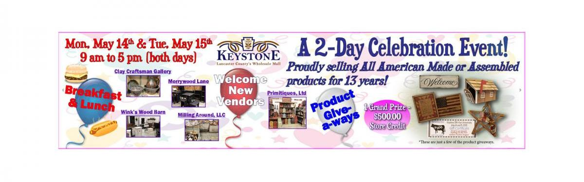 Keystone Wholesale Cash and Carry Event