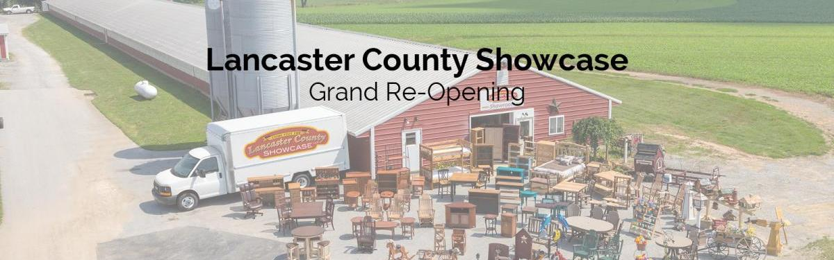 Lancaster County Showcase Grand Re-Opening