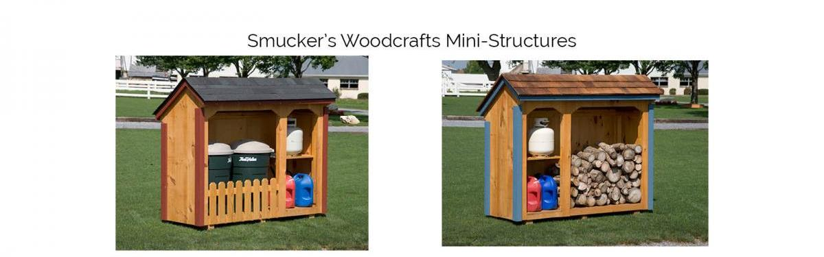 Smucker's Woodcrafts Mini Structures