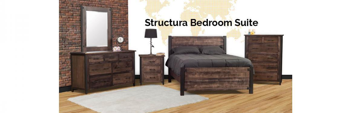 Miller Bedrooms Structura Bedroom Suite