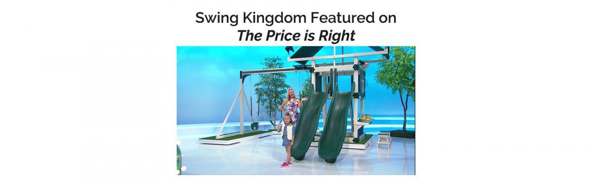 Swing Kingdom on the Price is Right