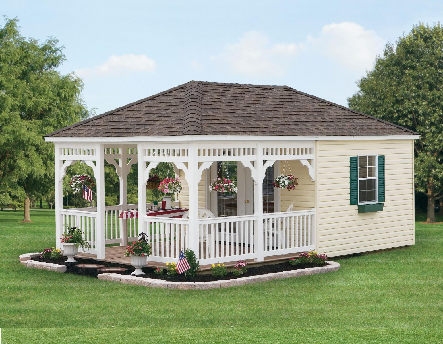 Rainbow garden structures llc all american wholesalers for Garden shed homes