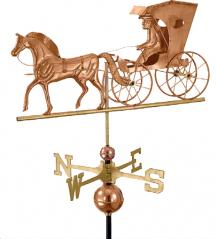 Zook's Poly Craft Copper Weathervane