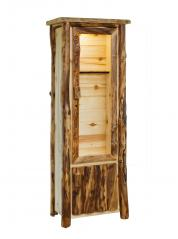 Countryside Rustic Log 6 Gun Cabinet