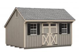 J&N Structures 10x16 Custom Quaker Shed