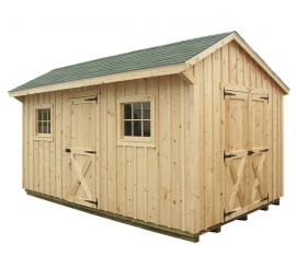 Solanco Structures 10x18 Storage Shed