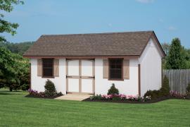 Rainbow Garden Structures 10x20 Keystone Quaker Storage Shed