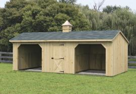 Solanco Structures Run-in Shed