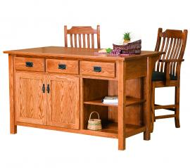 Ames Woodworking 1536 Kitchen Island