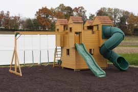 Kinzer Woodworking Castle Play Set