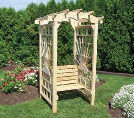 Lawn Swings Sunrays Roundtop Arbor Seat