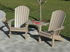 Country View Lawn Furniture Fan Back Chairs