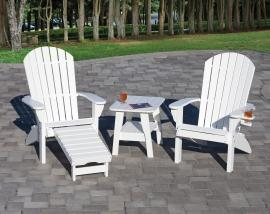 Country View Lawn Furniture Fanback Chairs and Table