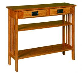 """Ames Woodworking 36"""" Hall Table"""