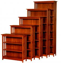 "Ames Woodworking 36"" Wide Bookcases"