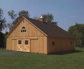 Solanco Structures Modular Horse Barn