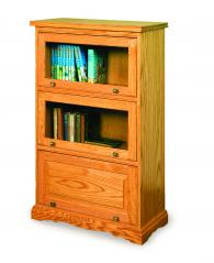 Rocky Ridge Furniture Three Drawer Bookcase