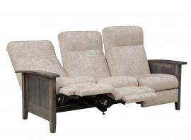 Elm Crest Furniture Shaker Reclining Sofa