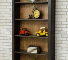 Meta Wood Collection 6 ft. Bookcase
