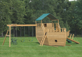 Kinzer Woodworking 8x14 Play Ship
