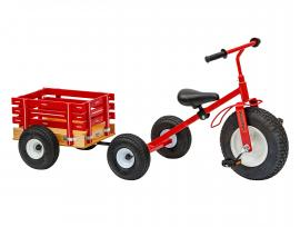 Lapp Wagons Model 1500 Trike w/ MC2 Trailer