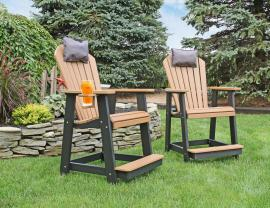 Meadowview Lawn Creations Adirondack Cafe Chair