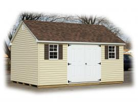 B&B Structures Backyard A-Frame Storage Shed