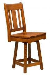 Artisan Chairs Brookville Swivel Bar Stool