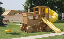 Kinzer Woodworking Bull Dozer Play Set