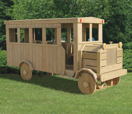 Kinzer Woodworking School Bus