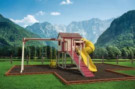 Swing Kingdom C2 Turbo Escape Playhouse