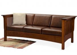Club Sofa Upholstered