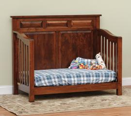 Fisher's Quality Products The Princeton Crib (Converted to Day Bed)