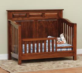 Fisher's Quality Products The Princeton Crib (Converted to Toddler Bed)