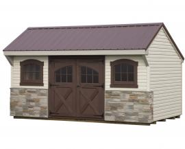 Sunrise Structures Customizable Quaker Shed