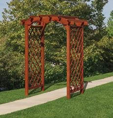 Lawn Swings Diamond Round Top Arbor